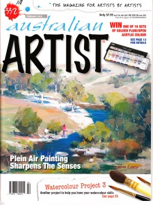 Australian Artist Magazine February 2012 Maureen Bainbridge