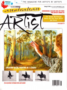 Australian Artist Magazine June 2010 Maureen Bainbridge