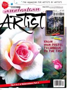 Australian Artist Magazine March 2011 Maureen Bainbridge