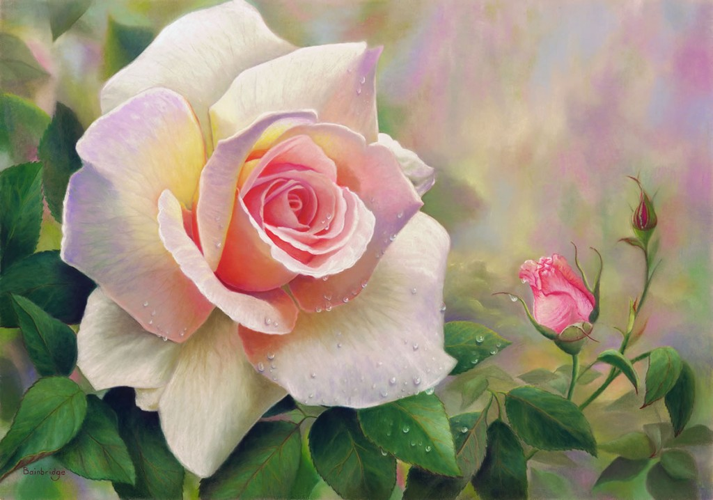 Сделать открытку, красивые гифы с цветами о любви
